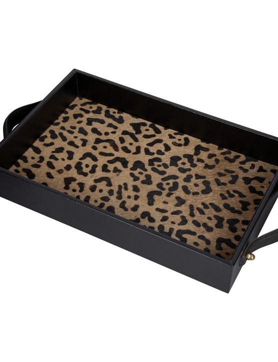 Go wild with a pop of leopard-print inlay. A by AMARA Leopard Suede Tray, £65, Amara