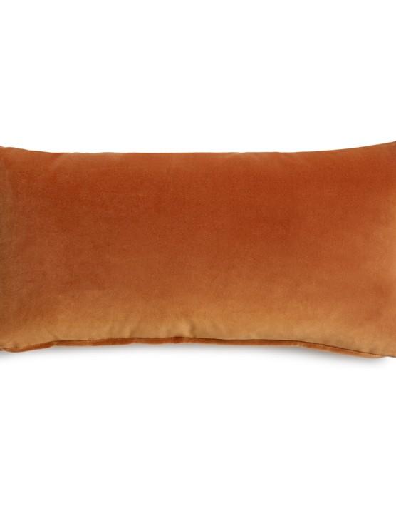 Burnt Orange Monroe Oblong Cushion, £65, Soho Home