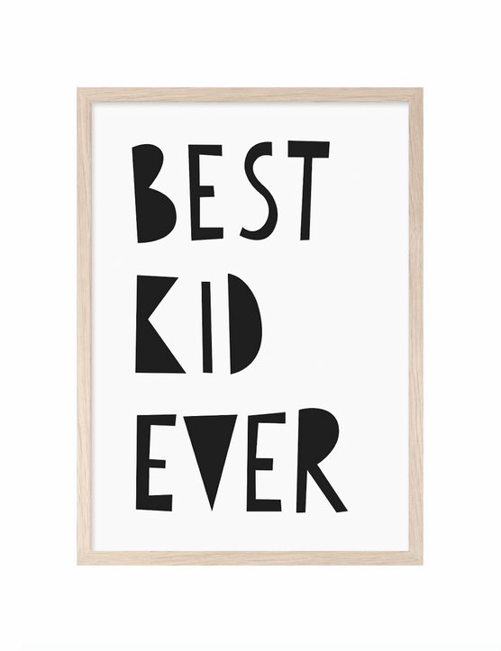 Let them know how proud you are with this striking monochrome print. £15 from Bobby Rabbit
