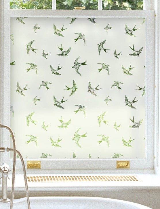 Swallows window film, from £16.09, Purlfrost