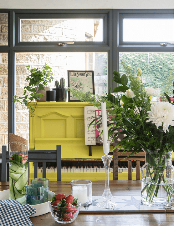 Garden room makeover: 'My colourful garden room cost next to nothing'
