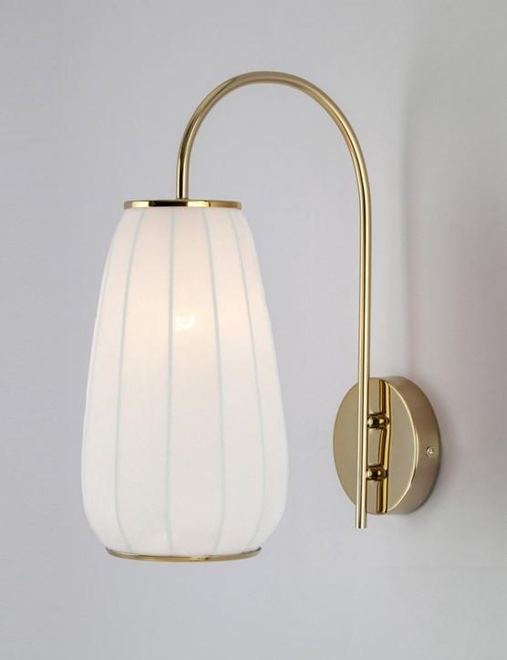 Soft fabric wall light, £60, Houseof