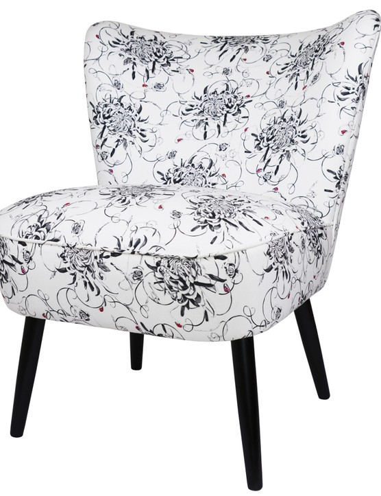This cocktail chair is upholstered to order with Susannah Weiland's Entangled Chrysanthemums print. £795 from Charlton Island