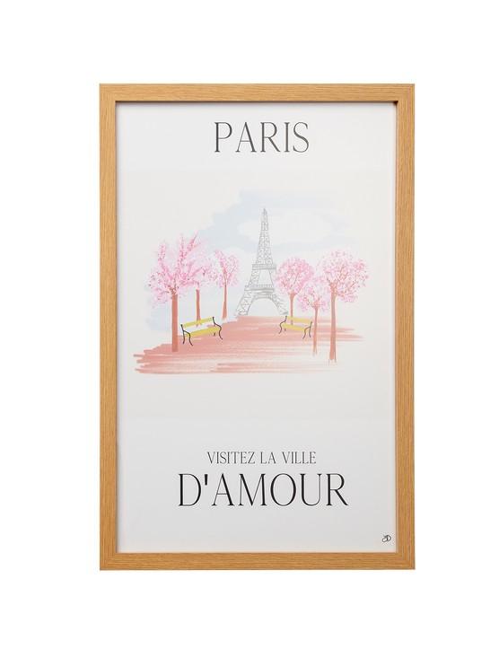 Paris City Framed Wall Art, £59.50, Oliver Bonas
