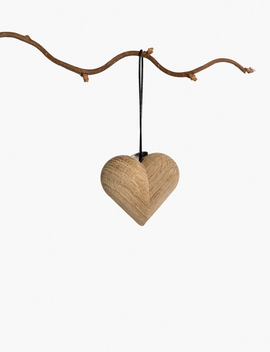 ARCHITECTMADE Jul Heart Hanging Christmas Decoration, £39, John Lewis & Partners