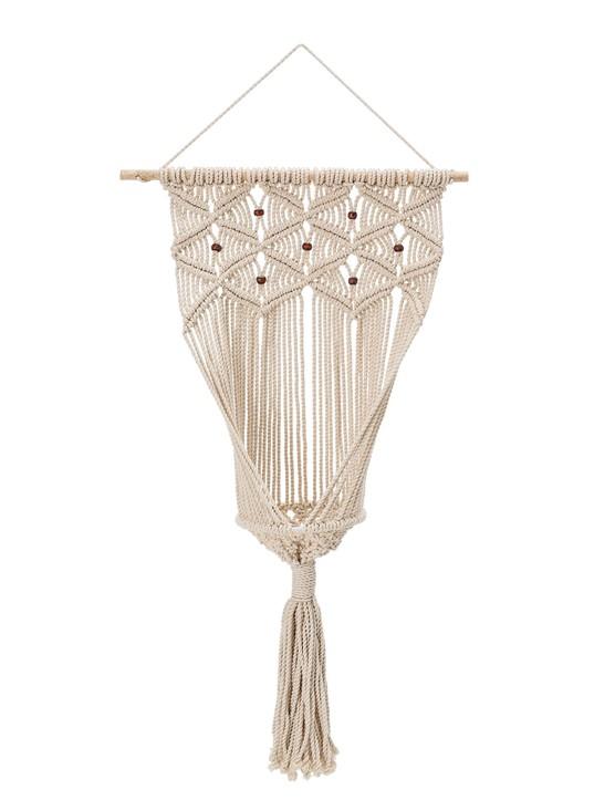 Bloomingville Macrame Hanging Planter, £53, Cuckoolandjpg
