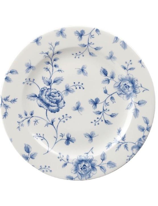 Churchill vintage prints tea plates Prague rose print, £45.58, Nisbets