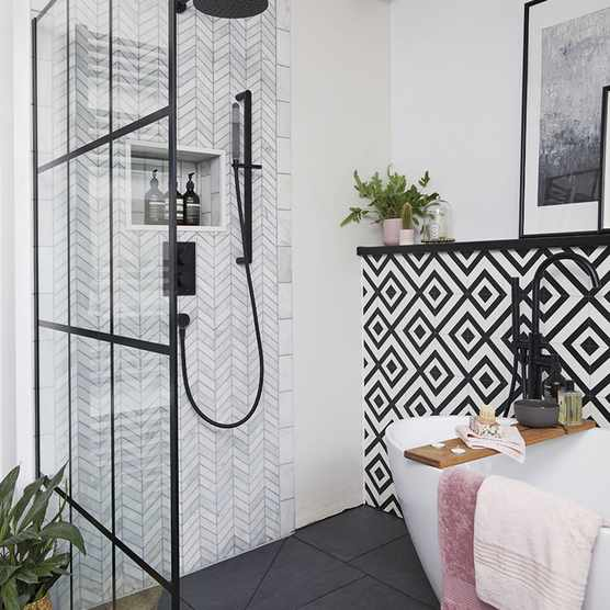 Bathroom makeover: 'I wanted it to look good and work well'