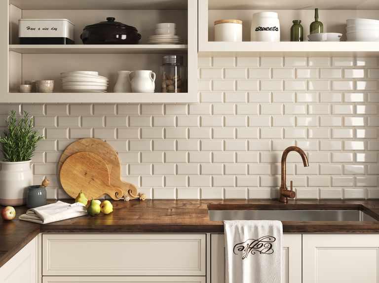 Cream Kitchen Ideas Your Home Style, Cream Kitchen Cupboards White Tiles