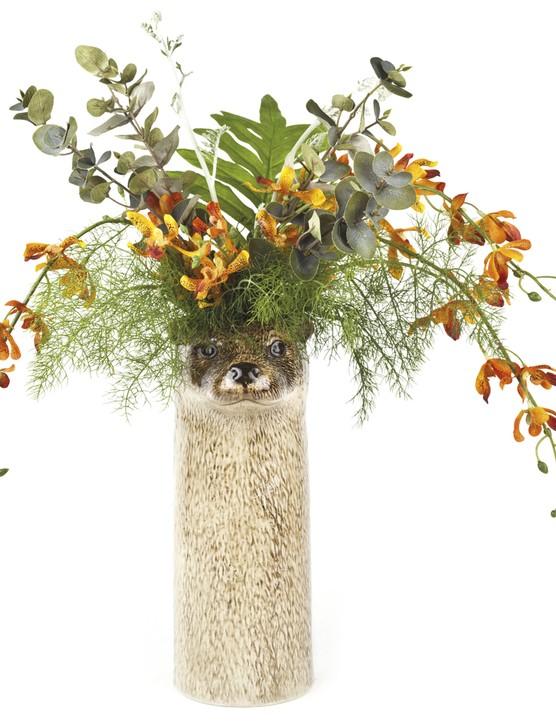 Otter flower vase,  £60, Quail ceramics