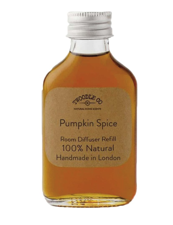 Pumpkin Spice 100ml diffuser refill, £32, Twoodle co