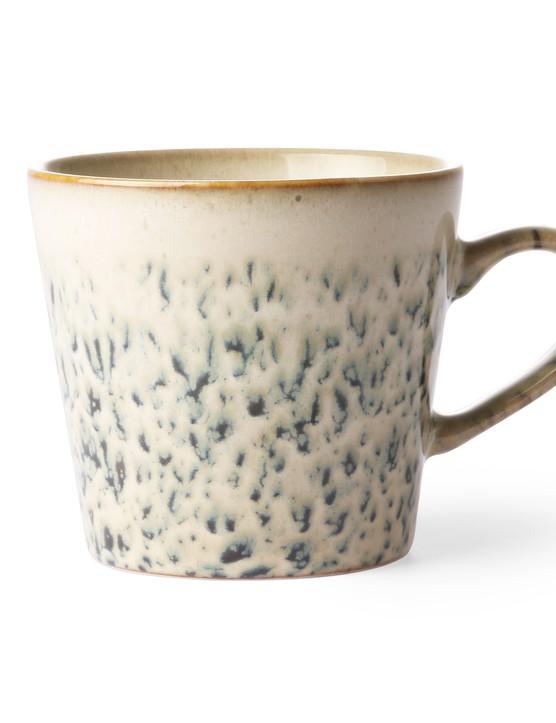 Retro Speckled Ceramic Mug £8, Rose & Grey
