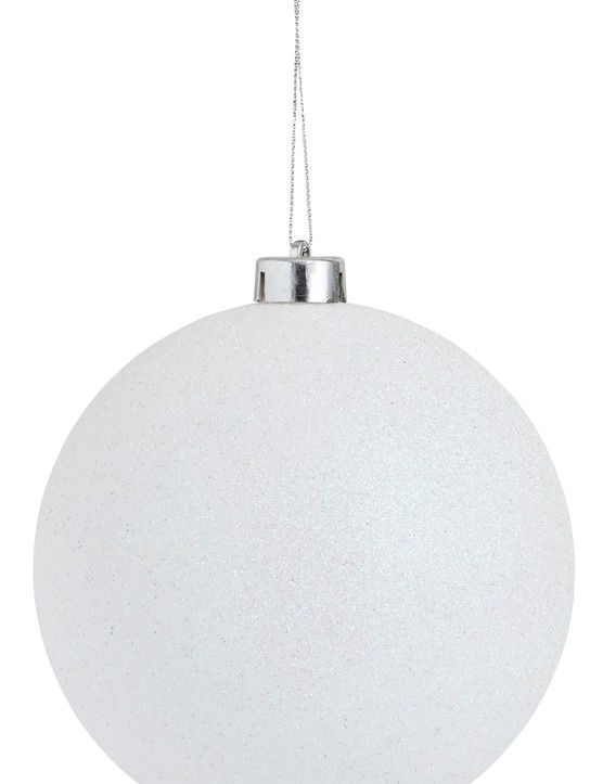 Magical White Glitter Ball, £3, Wilko