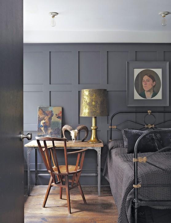 Estate emulsion in Railings No.31, £47.95 for 2.5l, Farrow & Ball