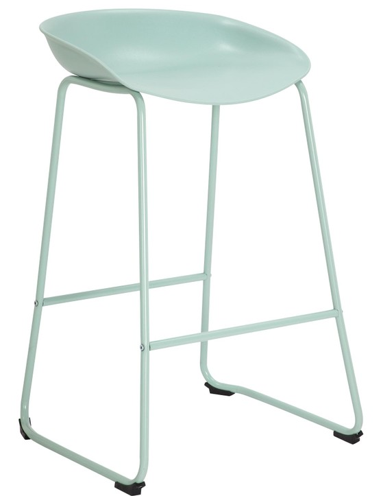 Nexa bar stool in Mint Green, £40, Argos Home