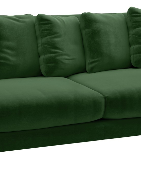 Swift three-seater velvet sofa, £1,195, Habitat