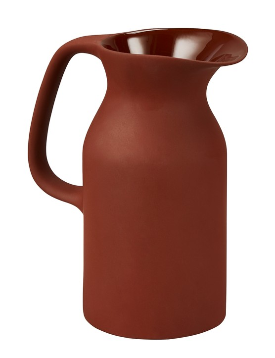 Brown terracotta jug, £19.99, Homesense