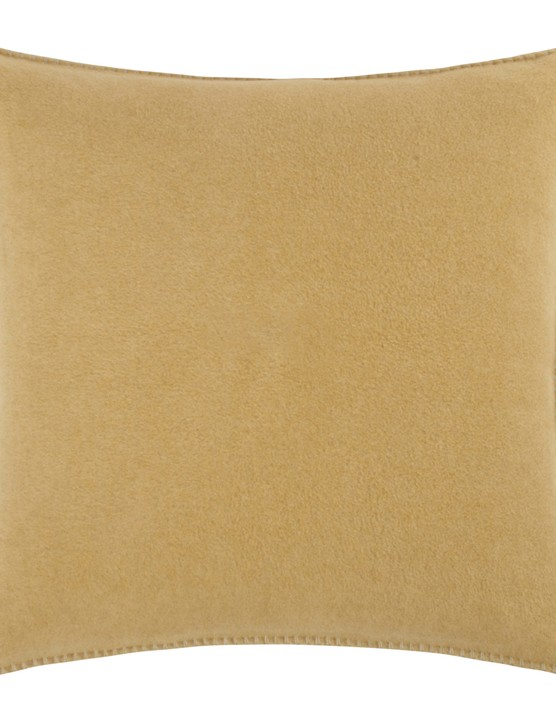 Zoeppritz since 1828 soft fleece cushion in Camel, £35, Amara