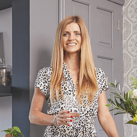 Home makeover: 'I went over to the dark side'