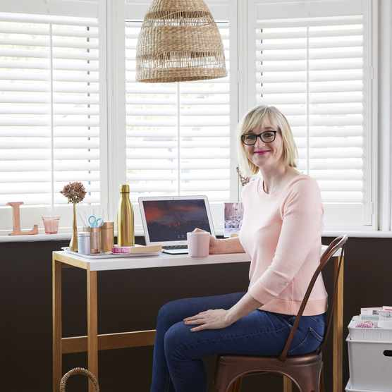 Office makeover: 'An unused room is now my creative haven'