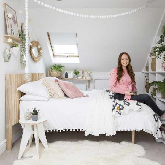 Bedroom makeover: 'I turned my bedroom into a boho hideaway'