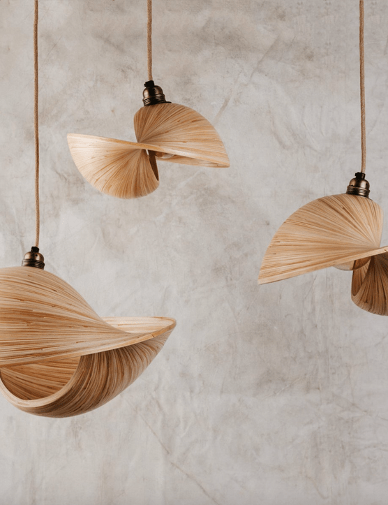 Hanging Bamboo Ceiling Pendant, £109, Etsy