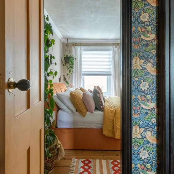 'Renovating gave us a blank canvas for our colourful, creative home'