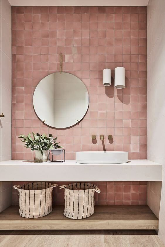 Pink Bathroom Ideas And Accessories To Get You Inspired Your Home Style