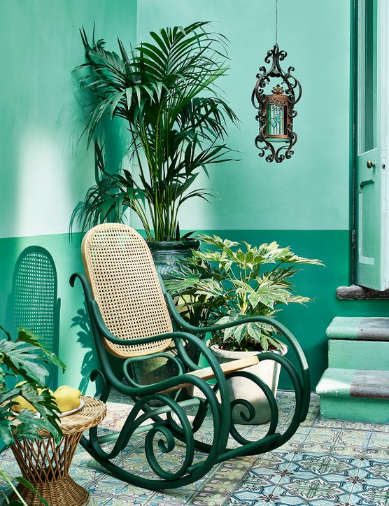 Outdoor conservatory Chalk Paint in Provence, Florence and Amsterdam Green, Annie Sloan