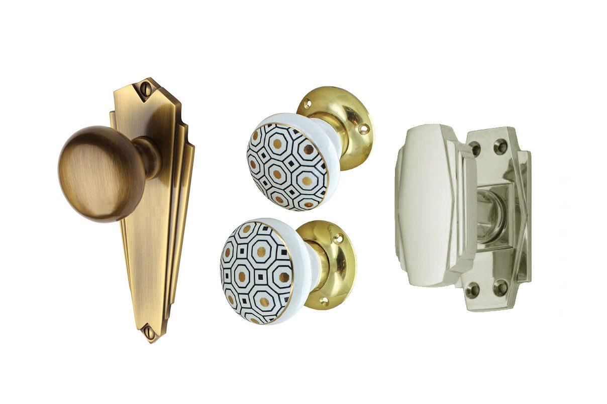 The best Art Deco door knobs to buy
