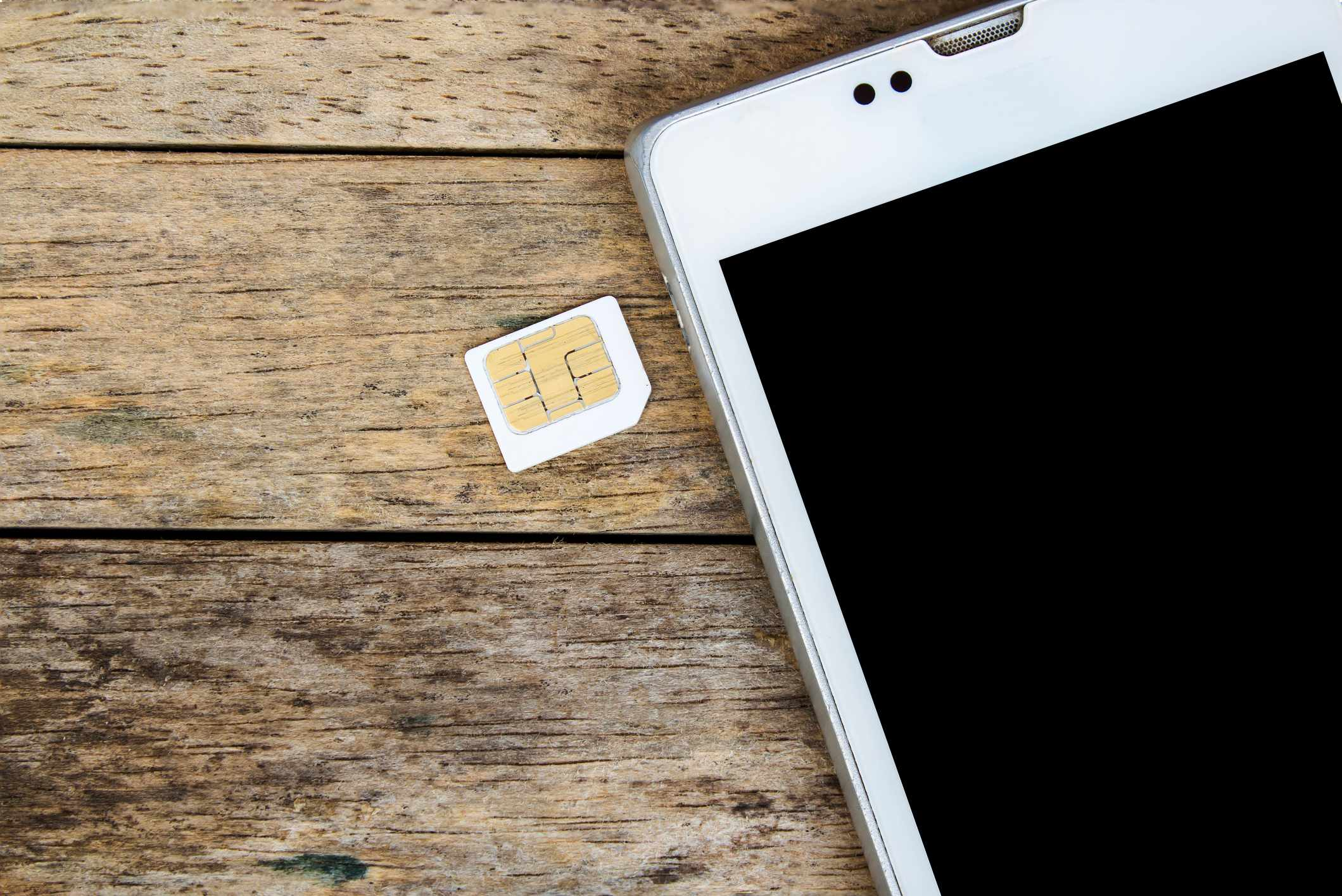 How long before mobile phone SIM card combinations run out? © Getty Images