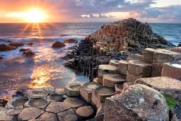 How did the Giant's Causeway form? © Getty Images