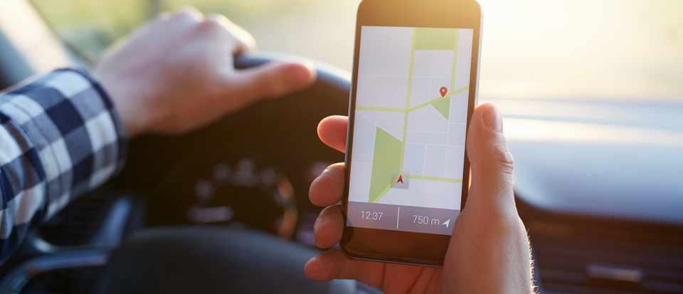 How does sat nav know which way I'm facing? © Getty Images