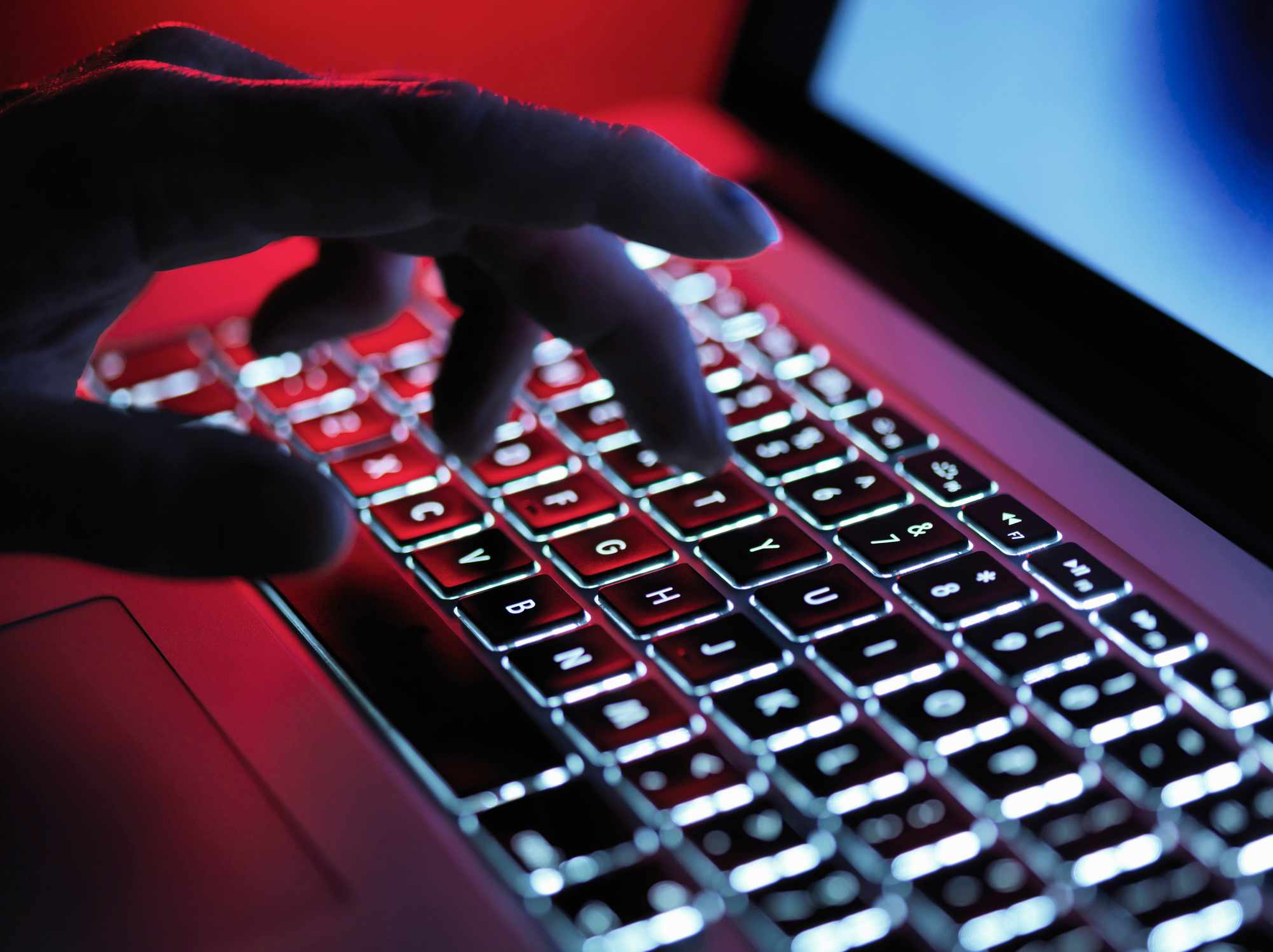 Is it possible to encrypt the data on my laptop? © Getty Images