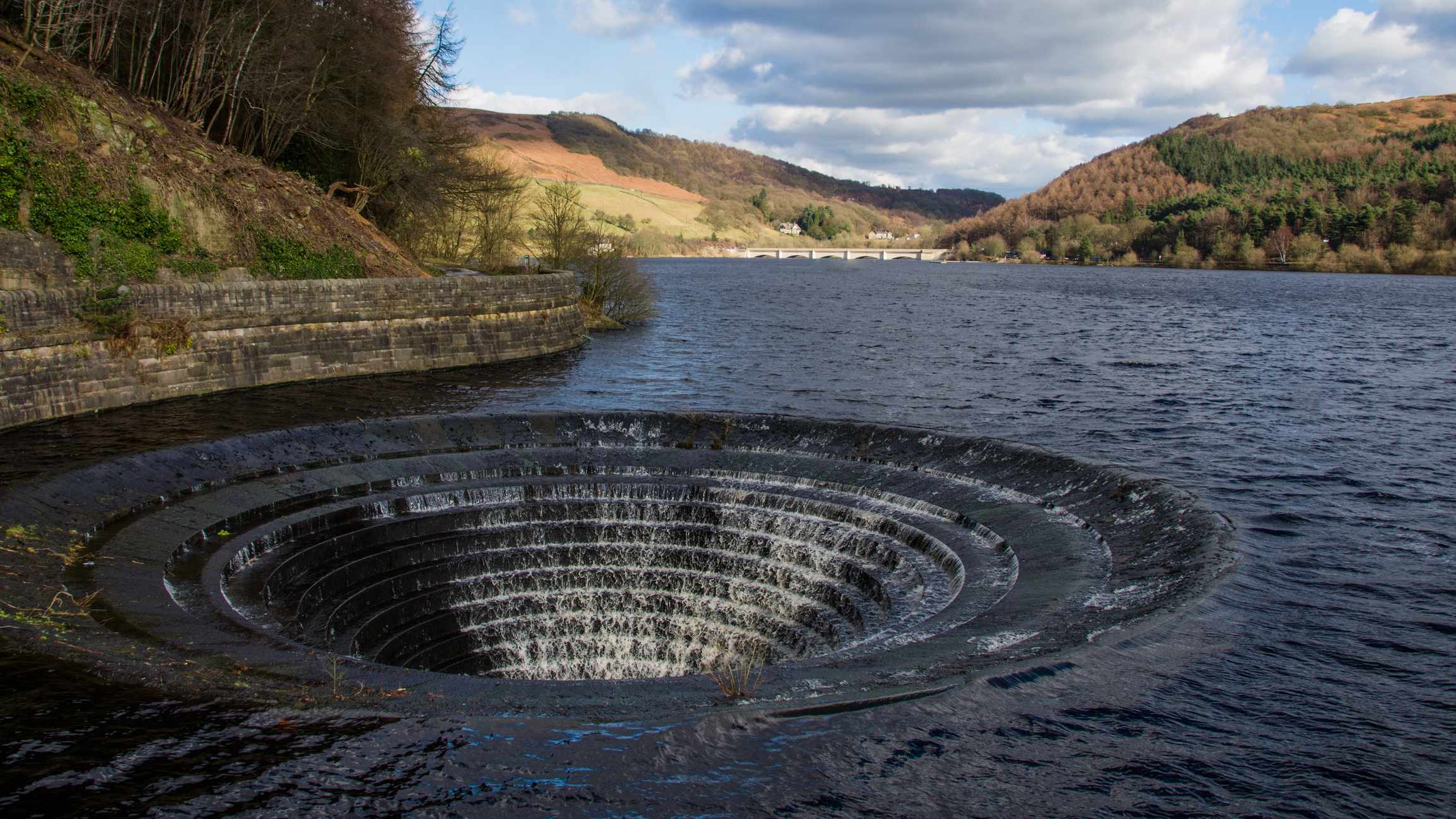 What happens when reservoirs are full? © Getty Images