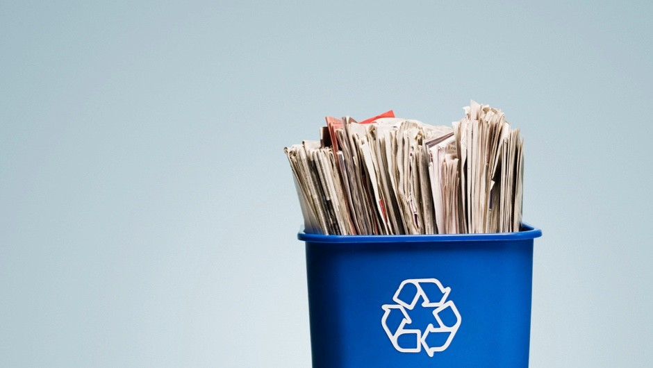 Is recycling paper bad for the environment? © Getty Images