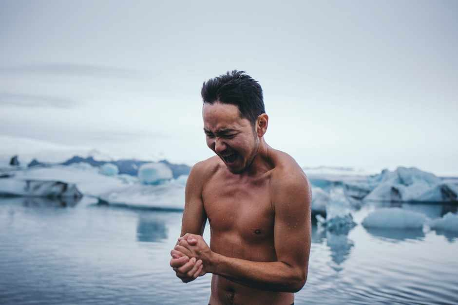 Why does being in cold water feel worse than being in air of the same temperature?