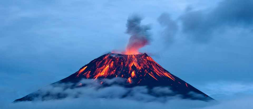 What are supervolcanoes? © Getty Images