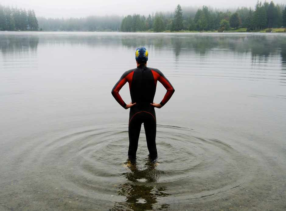 Is it easier to swim in warm or cold water? © Getty Images