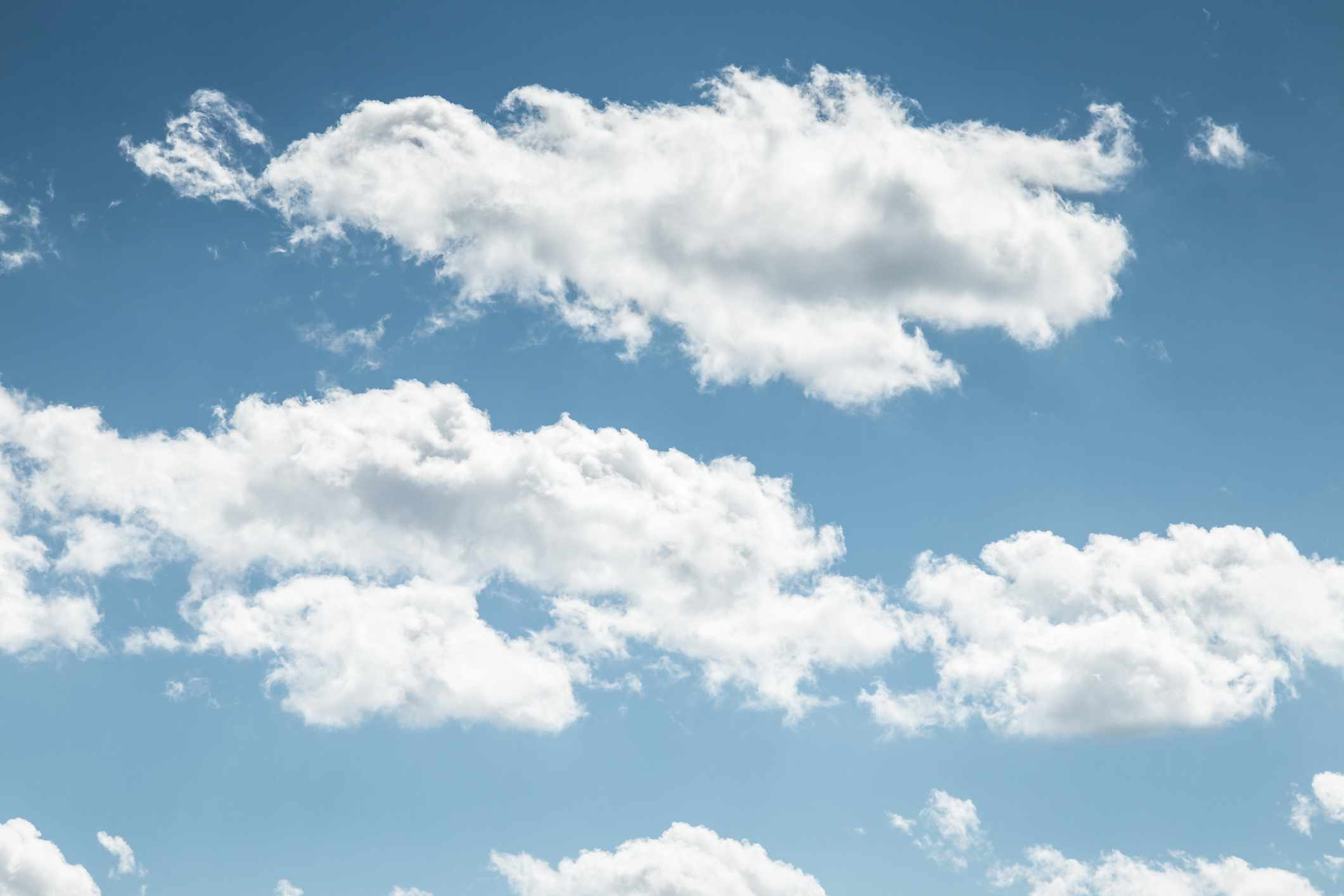 How much does a cloud weigh? © Getty Images