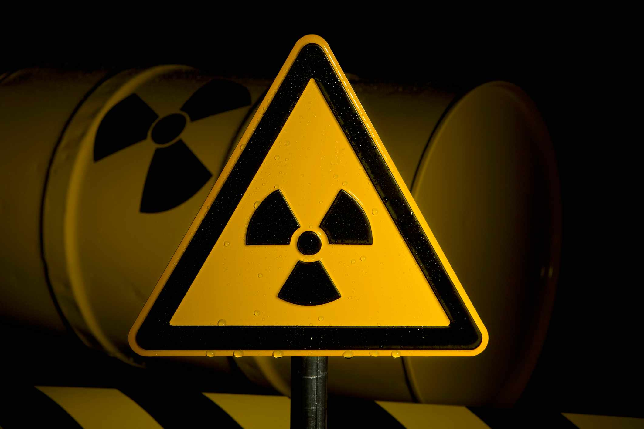 Do coal fired power stations produce radioactive waste? © Getty Images