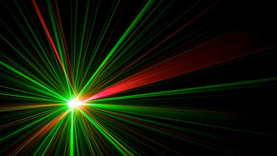 What makes green lasers more powerful than red ones? © Getty Images