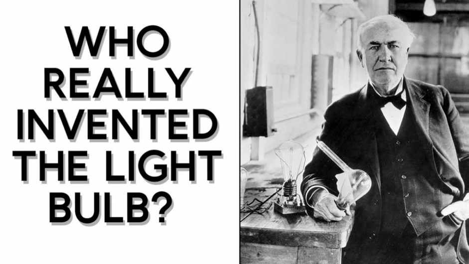 Who really invented the light bulb?