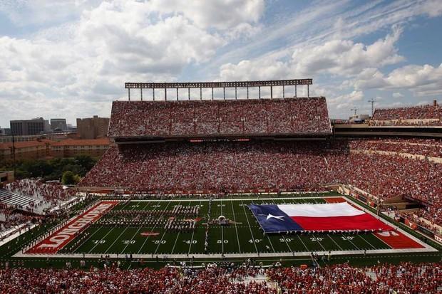Darrell K Royal-Texas Memorial Stadium © Getty Images