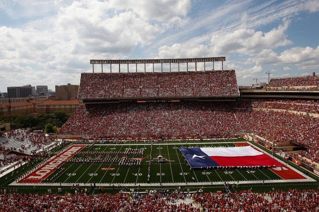 Darrell K Royal-Texas Memorial Stadium © Getty Images