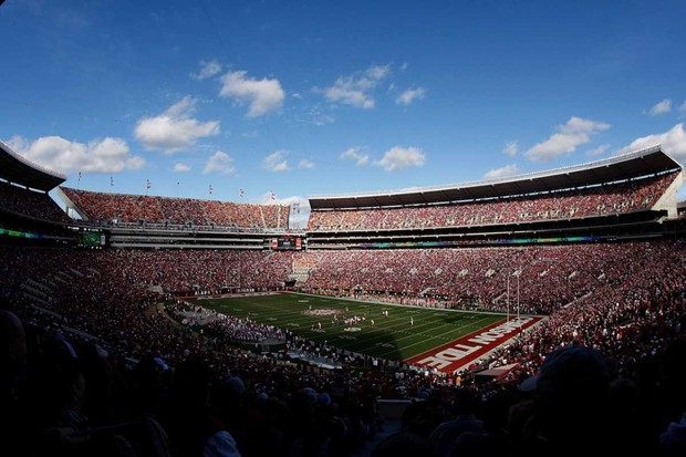 Bryant-Denny Stadium © Getty Images