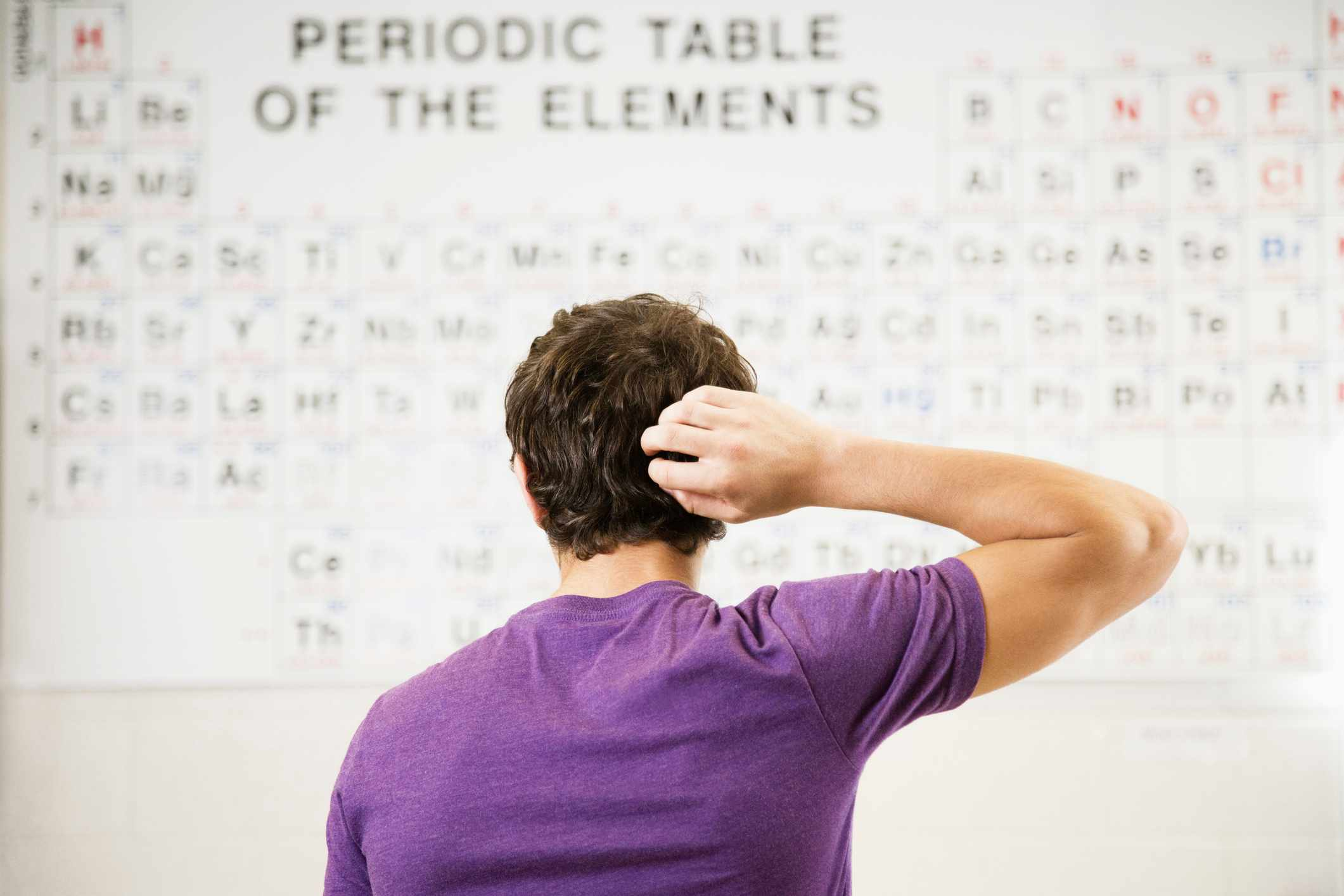 Who invented the periodic table? © Getty Images