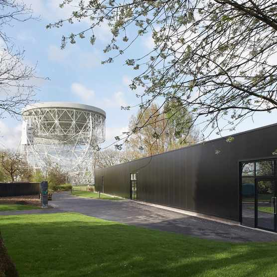 Jodrell Bank Visitor and Exhibition Centre, Macclesfield, United Kingdom © HUFTON + CROW/Getty Images