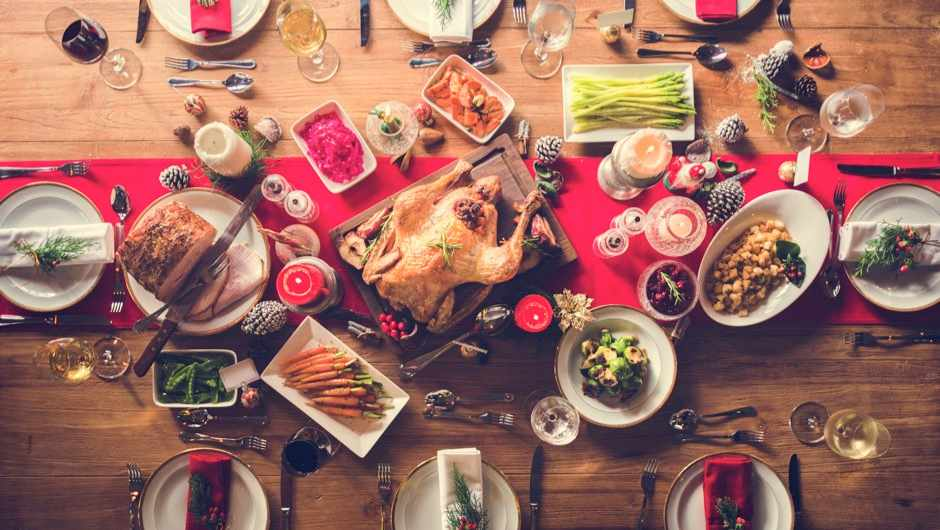 What happens to your body after eating Christmas dinner? © Getty Images