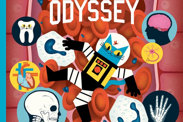 Professor Astro Cat's Human Body Odyssey Flying Eye Books, £15.99